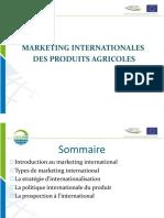 Marketing Internationales Des Produits Agricoles Sommaire Introduction Au Marketing International Types de Marketing International La Strategie d Internationalisation La Politique Internat 1