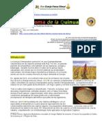 Cultivo Homa de Quinua en la ECHO