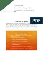 Test de Burppe