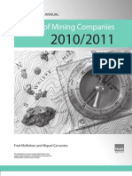 Mining Survey 2010 - 2011
