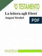 August Strobel, Franco Ronchi (editor) - La lettera agli Ebrei-Paideia (1997)