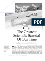CO2 the Greatest Scientific Scandal of Our Time