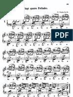 Chopin Prelude op.28