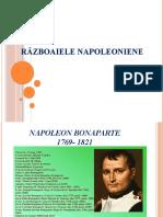 Istorie -Razboaie napoleoniene