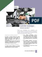 Vehicule Automobile Controle Technique