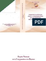 Dépenses des ménages 2013 2014. Rapport HCP