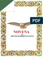 NOVENA DO DIVINO ESPÍRITO SANTO 2020