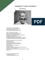 Antología Walt Whitman