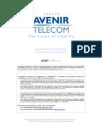 Avenir Telecom Rapport