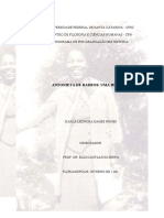 Antonieta de Barros - Uma História - 159 Pgs