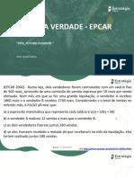 Hora Da Verdade Epcar - 2022
