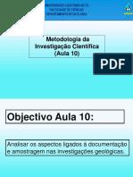 AULA-10_DOCUMENTAÇÃO  E AMOSTRAGEM.output