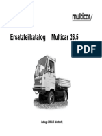 Каталог Multicar 26.5 МультикарM265