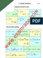 Mathematics-Definite-Integration