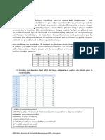 LPSP1306 Exercices Danalyse de Donnees A