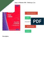 L'Analyse technique _ Pratiques et Méthodes PDF - Télécharger, Lire TÉLÉCHARGER LIRE ENGLISH VERSION DOWNLOAD READ. Description