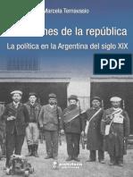 H Sábato y M Ternavasio Variaciones de La República