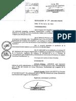 2013 Directiva sobre emails del Congreso de la Republica