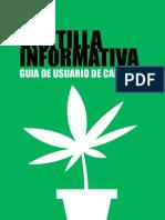 CARTILLA INFORMATIVA - GUIA DE USUARIO DE CAÑAMO - 2DA EDICION (PARA LEER)