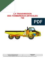 261 S - La transmission des 740