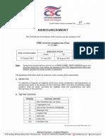 Exam Announcement No04s2021 FOE