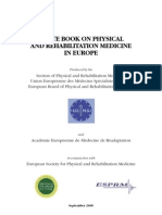 WHITE BOOK ON PHYSICAL AND REHABILITATION MEDICINE IN EUROPE