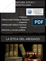 CODIGO DE ETICA DEL ABOGADO