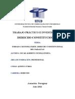 UNIDAD 4 SEGUNDA PARTE .DERECHO CONSTITUCIONAL DEL PARAGUAY
