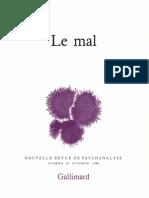 Le Mal - Gallimard