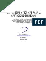 ESTRATEGIAS Y TECNICAS PARA RECLUTAMIENTO Y SELECCION DEL PERSONAL SEMI-PUBLICO