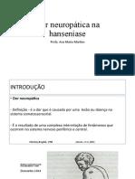 AULA TRÓPICA 2019 - DOR NEUROPÁTICA