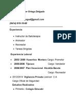 Francisco Javier Ortega Delgado CV (1)