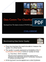 Chloride - Data centre tier classifications