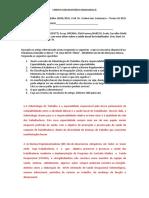 PROVA ODONTIOLOGIA DO TRABALHO 20042021 I BIMESTRE