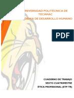 CUADERNILLO ETICA PROFESIONAL