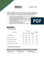 PROGETTAZIONE DIDATTICA - Matematica