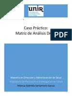 Caso Práctico- Matriz de Análisis DAFO- G Santamaría