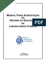 Manual Para Acreditao Do Sistema Da Qualidade de Laboratrios Clnicos