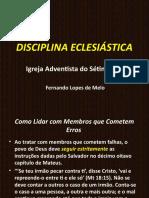 Disciplina eclesiática