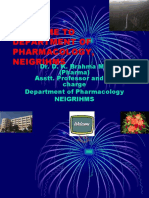 General Pharmacology - Sources of Drugs and Routes of Administration