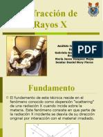 Difraccion rayos X