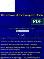 EU Policies Full Overview Competencies Legal Basis