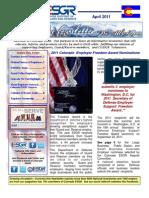 April COESGR Newsletter