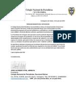 Pronunciamiento CNP - Vital - Caso UNIBAC