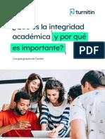 Turnitin eBook Que Es Integridad Academica