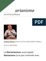 wiki nozick libertarianisme