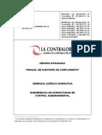 Version Integrada Del Manual de Auditoria de Cumplimiento-MAC