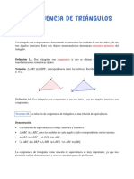 7 Congruencia de triángulos