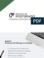 Unidad 5 on Line El Ejercicio Del Liderazgo en El Diálogo