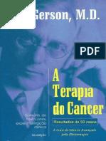 A terapia do Câncer